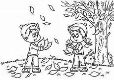 Malvorlagen Kinder Herbst Herbst 1 Ausmalbilder Malvorlagen