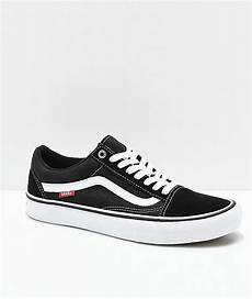 vans skool pro black white skate shoes black mens