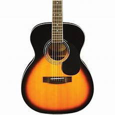 who makes mitchell guitars mitchell mo100s solid top orchestra guitar vintage sunburst musician s friend