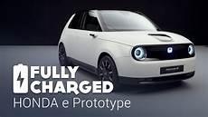 honda e prototype fully charged