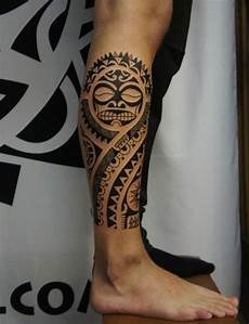 tatouage tribal mollet homme signification