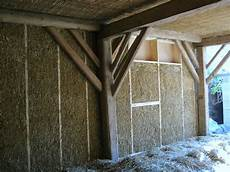 straw bales straws and house on