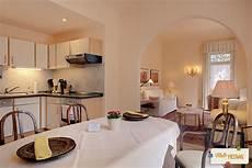 wohnzimmer küche esszimmer ferienwohnung appartement hesse villa hedwig