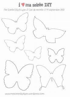 Malvorlagen Schmetterling Selber Machen Papillons Gabarit Schmetterling Vorlage Osternest
