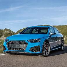 turbo blue 2020 audi s4 tdi is a cool sedan exhaust is fake one side autoevolution