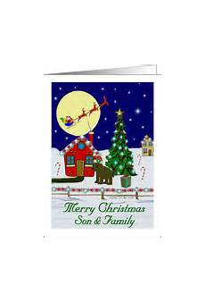 christmas cards for son his family from greeting card universe