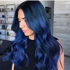 coloration cheveux bleu coloration cheveux bleu nuit cheveux bleus en 2019