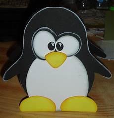 Bastelvorlage Pinguin Papier - papiertiger februar 2012