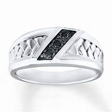 men s wedding ring 1 15 ct tw diamonds sterling silver 3162910299