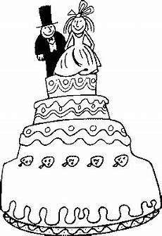 malvorlagen hochzeit comic vierstoeckige torte ausmalbild malvorlage hochzeit