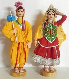 gujrati couple dolls wedding doll traditional