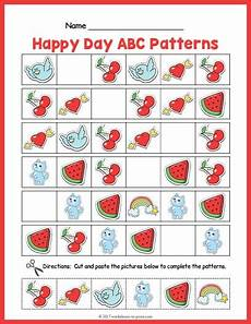 abc patterns worksheets 24 happy day abc pattern worksheet