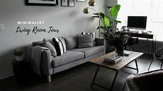 Tiny Minimalist Apartment Living Room Tour