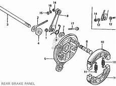 honda ct 70 k3 clutch assembly diagram honda ct70 trail 70 k4 1975 usa parts lists and schematics