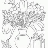 Coloring Page  Seasons Spring