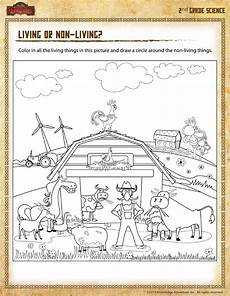 science worksheets living and nonliving things 12103 living or non living view 2nd grade printable worksheet sod