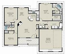 simple open house plans ranch open concept could work with the mudroom would