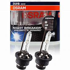 osram nightbreaker unlimited xenarc d2s duo pack 35w pk32d