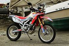 project bike honda crf 250l rally replica bikes