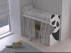 letto a soppalco singolo letto singolo a soppalco panda