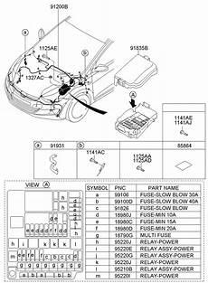 hyundai elantra 2011 fuse box diagram 1879001315 hyundai multi fuse engine compartment multi engine room multi wholesale