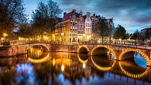 Amsterdam The Netherlands  Phone Wallpapers