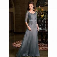 mother of the bride dresses for weddings lace scoop plus size mother groom formal dresses 3 4