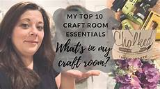 my craft room essentials dollar tree supplies