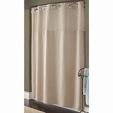 hookless mystery shower curtain hookless taupe pique mystery polyester shower