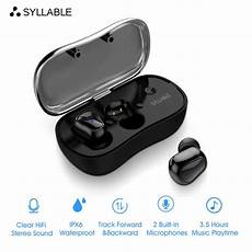 bluetooth headset for mobile phone syllable d900p bluetooth v5 0 earphone noise reduction