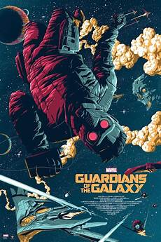 Guardians Of The Galaxy Poster By Florey Poster Marvel