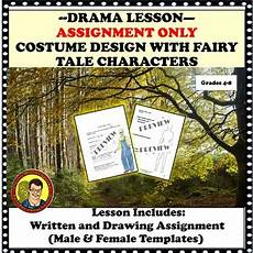 tale drama lesson 14983 drama lesson costume design assignment only with tale characters
