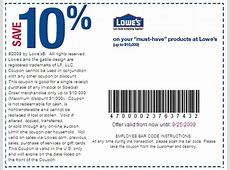 10% off lowes coupon 2019