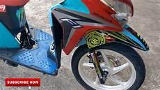 Modifikasi Lu Motor by Modifikasi Honda Vario 125cc Ala Thailook Thailook