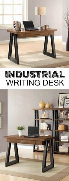 better homes and gardens office furniture better homes gardens mercer industrial writing desk with
