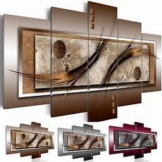 wandbilder xxl abstrakt leinwand bilder braun grau