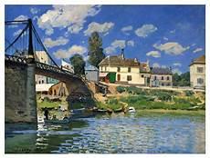 dhl villeneuve la garenne the bridge at villeneuve la garenne by alfred sisley