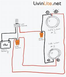 On Led Light Wiring by Dimmable Led Install Light In Your Rv