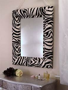zebra print bathroom ideas zebra print mirror by xxxxxxxxxxx notonthehighstreet