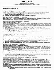 9 10 resume sle sales representative