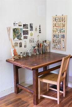 Wooden Bedroom Desk by Max Emily S Farmhouse With An Artistic History