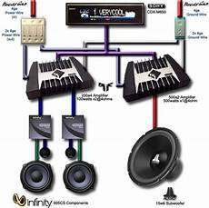 car audio lifier speaker wiring hereis another radical system diagram made for me by danial