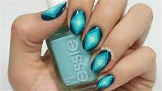 ombre diamond nail art youtube