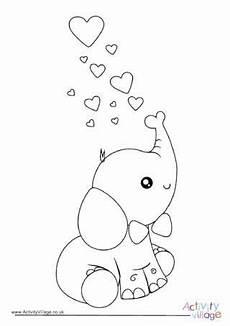 Malvorlagen Valentinstag Baby Valentinstag Elefant Malvorlagen In 2020 Malvorlagen