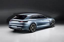 Glimpse Of The New Porsche Panamera Sport Turismo Concept Car
