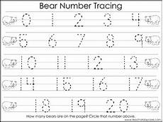 2 task worksheets trace the alphabet and numbers 1 20 preschool kdg