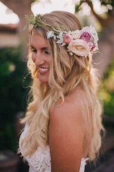10 boho chic wedding hairstyles for 2017 pretty designs