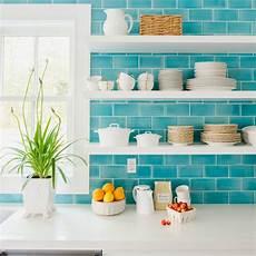 Turquoise Tile Backsplash 2016 coastal living magazine htons showhouse house of