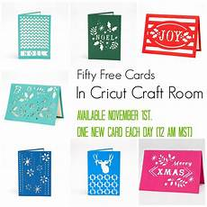 free cards week one cricut craft room cricut crafts cricut