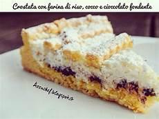 crema con farina di cocco azzuchef crostata con farina di riso cocco e cioccolato fondente